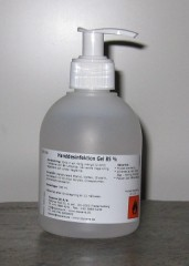 Hånddesinfektion Gel 85% 300 ml, med pumpe
