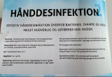 Hånddesinfektion 2 med pumpe 300 ml.